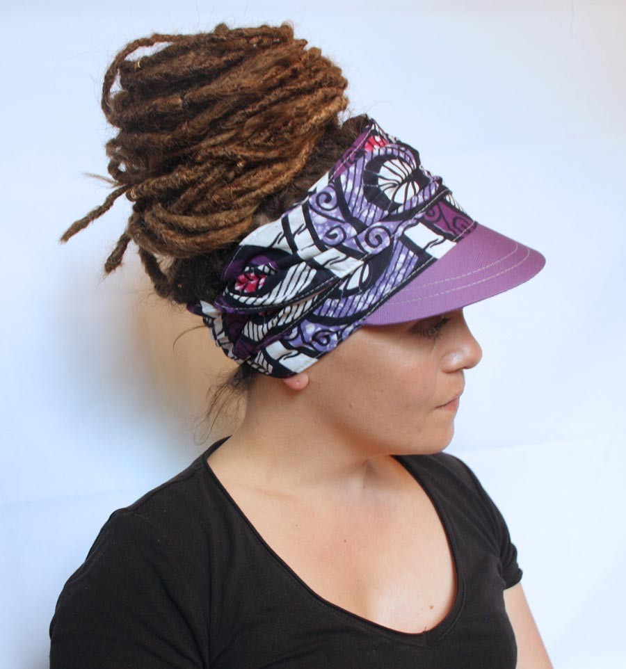 WRAP VISOR (Purple)