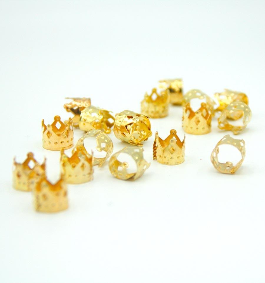 Bijoux locs couronne