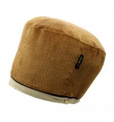 Bonnet en VELOURS COTELE (Camel)