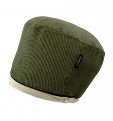 Bonnet en VELOURS COTELE (Kaki)