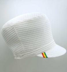 """""""WAFFLE"""" Texturized sportswear Cap (White or Kaki)"""