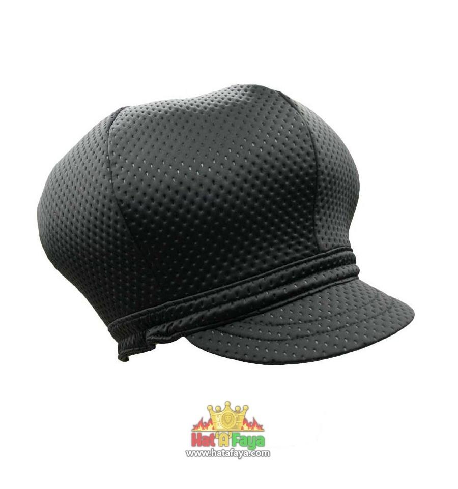 """""""RUFF"""" Stretch Texturized Neoprene Cap"""