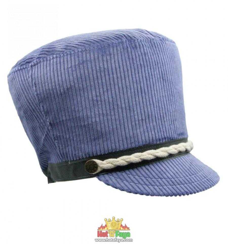 CORDUROY Rasta Cap (Lavender blue)