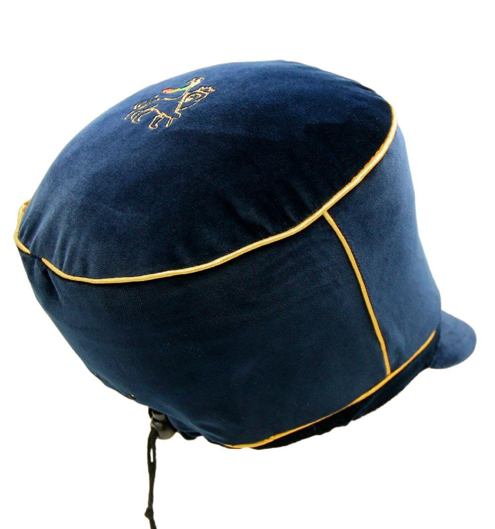 Black neoprene Rasta cap for dreadlocks